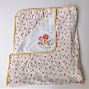 Vintage Gymboree Sweet Shop Receiving Blanket